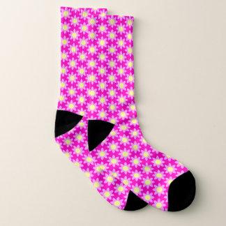 Pink Daisies Socks