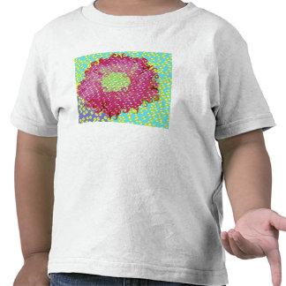 pink daisy bubbles t-shirt