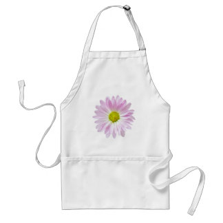 Pink Daisy Flower Design Floral Daisies Template Standard Apron