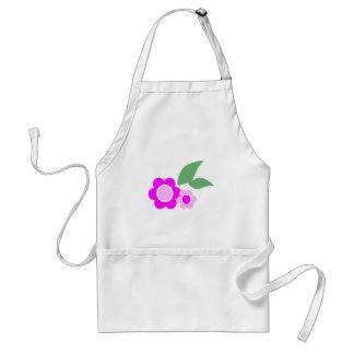 Pink Daisy Flowers Standard Apron
