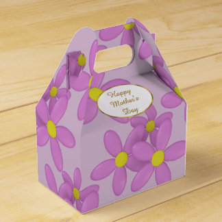 Pink Daisy Happy Mothers Day Gift Box