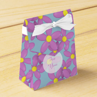 Pink Daisy Mother's Day custom party favor Favour Box