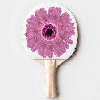 Pink Daisy Ping Pong Paddle