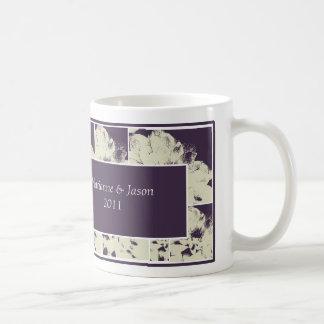 Pink Daisy Wedding Attendant Gift Mug