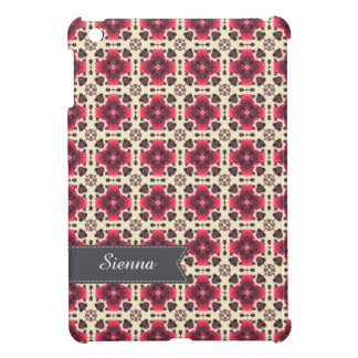 pink damask cover for the iPad mini