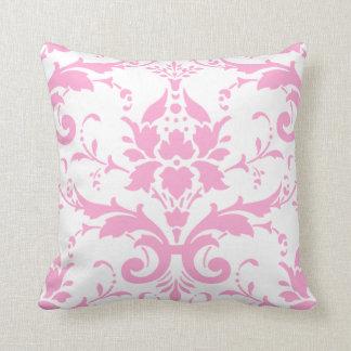 Pink Damask Design Pillow