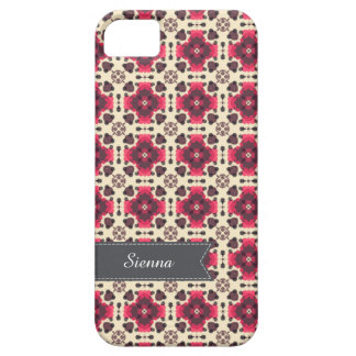 Pink damask iPhone 5 cover