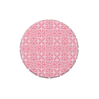 Pink Damask .jpg Candy Tins