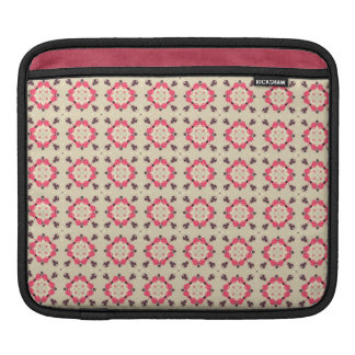 pink damask sleeve for iPads