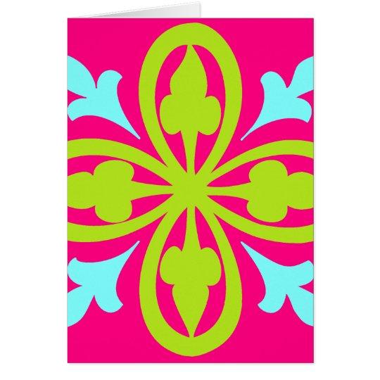 Pink Dance Card