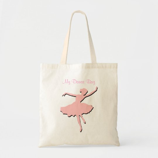 Pink Dancers Tote Bag