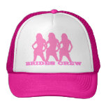 Pink dancing girls, brides crew cap
