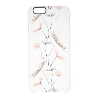 Pink Dandelion Flower iPhone 6/6s Case iPhone 6 Plus Case
