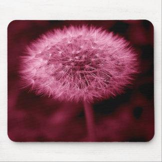 Pink Dandelion Mousepad