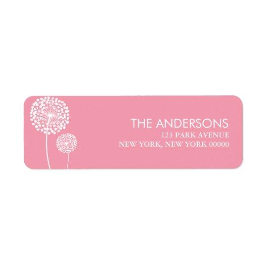 Pink Dandelions