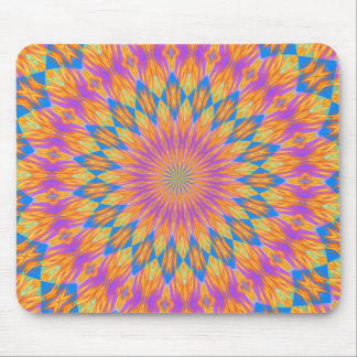 Pink dazzle mouse pad