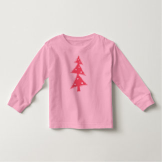 pink decorated Christmas tree Toddler T-Shirt