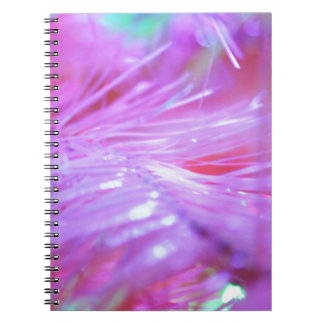 Pink decorations notebook