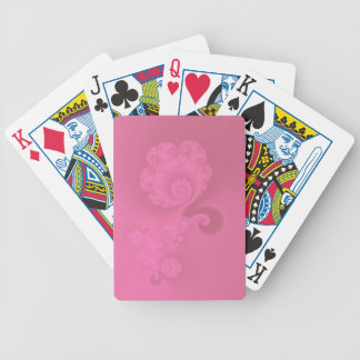 Pink Delight Playing Cards