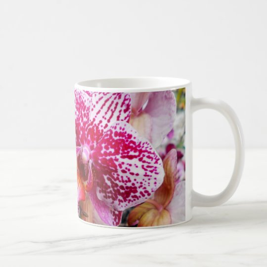 Pink Dendrobium Orchids Coffee Mug