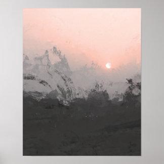 Pink Desert Sunset | Photography print