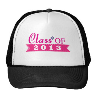 Pink Design Class of 2013 Hat