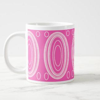 Pink design on mug