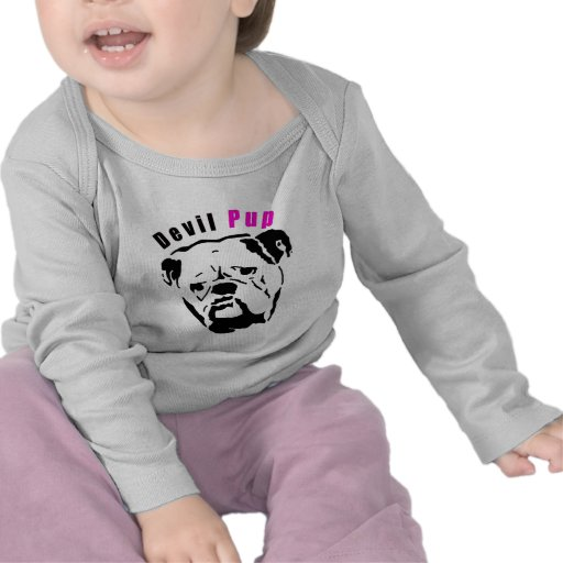 Pink Devil Pup Tshirt