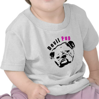 Pink Devil Pup Tshirts