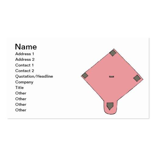 Pink Diamond Business Cards