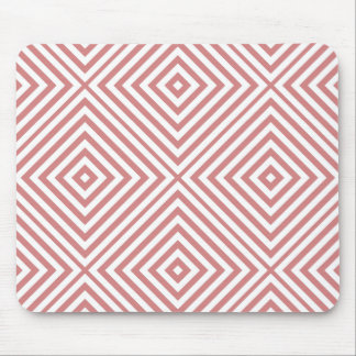 Pink Diamond Chevron Mouse Mat