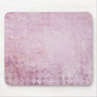 Pink Diamond Collage Background Mouse Pad