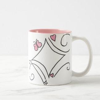 Pink diamond mugs