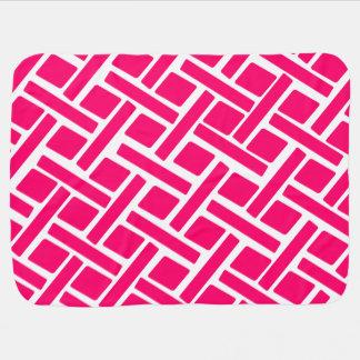 Pink Diamond Receiving Blanket