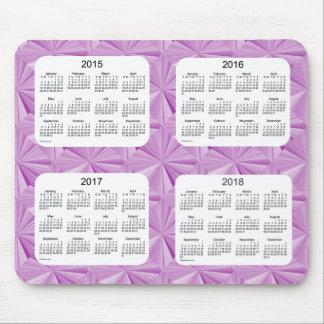 Pink Diamonds 2015-2018 Calendar Mousepad