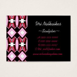 pink diamonds business card