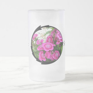 Pink Dianthus Sweet William Coffee Mug