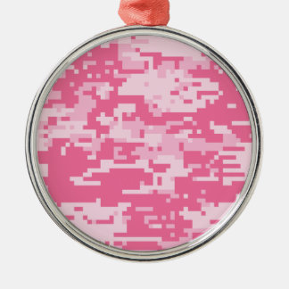 Pink Digital ACU Camoflage Pattern Christmas Ornament