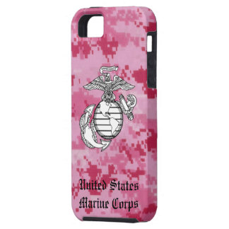 Pink Digital Camo EGA Case For The iPhone 5