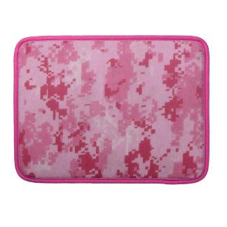 Pink Digital Camo Macbook Pro Rickshaw Flap Sleeve Sleeves For MacBook Pro