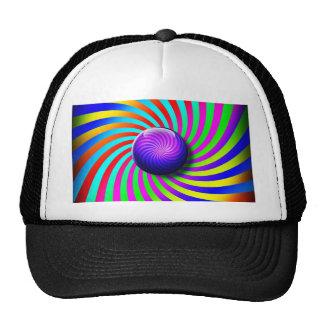 Pink Digital Design Art Glow Gradient Digital Art Trucker Hat