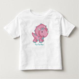 Pink Dino (customizable) T-shirts