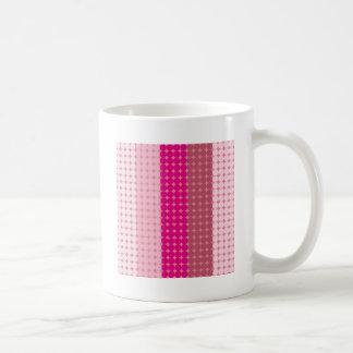Pink Disco Lights Basic White Mug