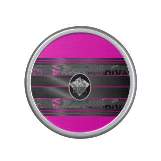Pink Diva Diamond Bling Bluetooth Speaker
