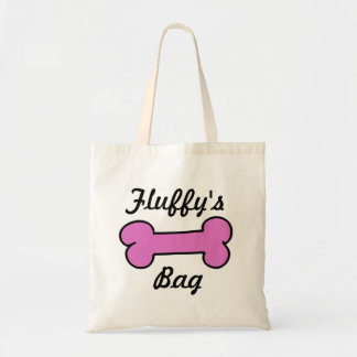 Pink Dog Bone Weekend Bag