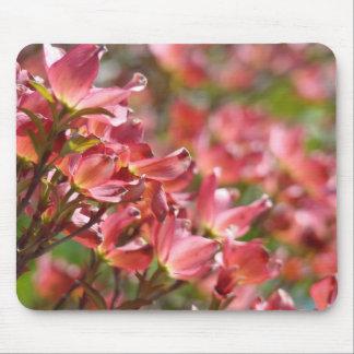 Pink Dogwood Flowers Wedding gifts custom Dogwoods Mouse Pad