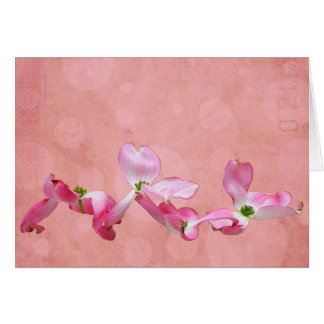 Pink Dogwood I Greeting Card