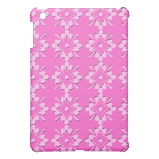 Pink Doily iPad Mini Case