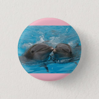 Pink Dolphin Button