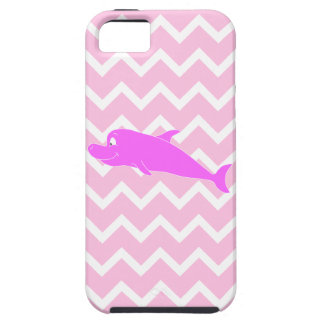 Pink Dolphin. Tough iPhone 5 Case